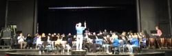 Ralph Hinst (class of '53) conducting The Stars and Stripes Forever with both the WRHS Alumni and the current wind