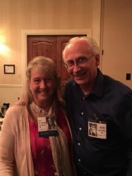 Sue Brundage Croghan and Bob Moore